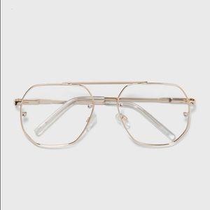 NWT. Zara Man Aviator Glasses.